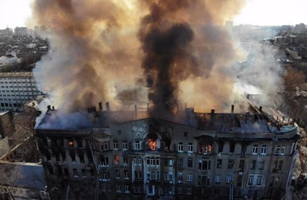 Bao Ukraine dua tin ve hanh dong cao dep cua nguoi Viet tai Odessa hinh anh 1