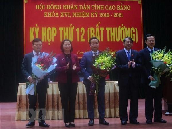 Thu tuong phe chuan nhan su cua Cao Bang, Vinh Long, Da Nang hinh anh 1