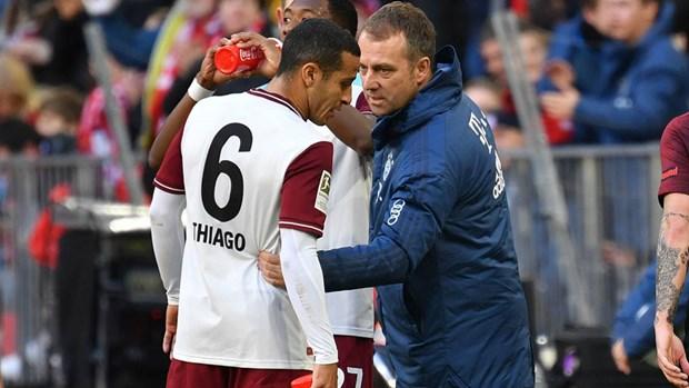 Bayern Munich chot xong tuong lai cua tien ve Thiago Alcantara hinh anh 1