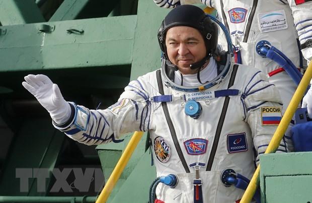 COVID-19 gay xao tron cho phi hanh doan tau Soyuz tro ve Trai Dat hinh anh 1