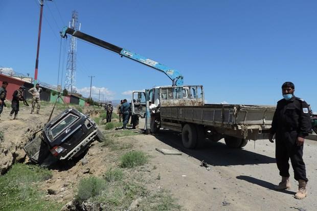Giao tranh giua Taliban va cac luc luong Afghanistan ngay cang du doi hinh anh 1