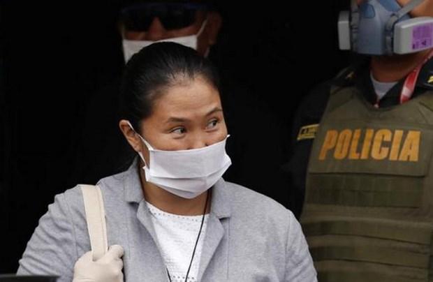 Peru: Lanh dao phe doi lap Keiko Fujimori duoc tai ngoai hinh anh 1