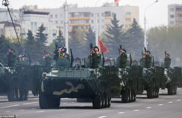 75 nam chien thang phatxit: Belarus duyet binh mung Ngay Chien thang hinh anh 1