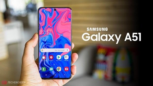 Samsung Galaxy A51 la mau smartphone ban chay nhat quy 1 nam 2020 hinh anh 1