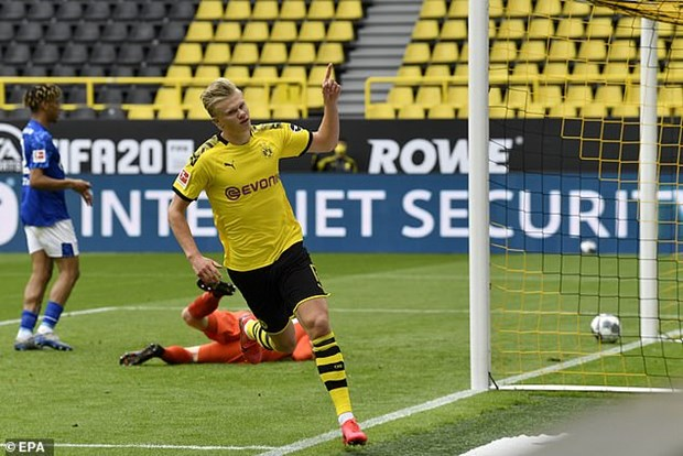 Ket qua Bundesliga: Dortmund ap sat Bayern, RB Leipzig mat diem hinh anh 1
