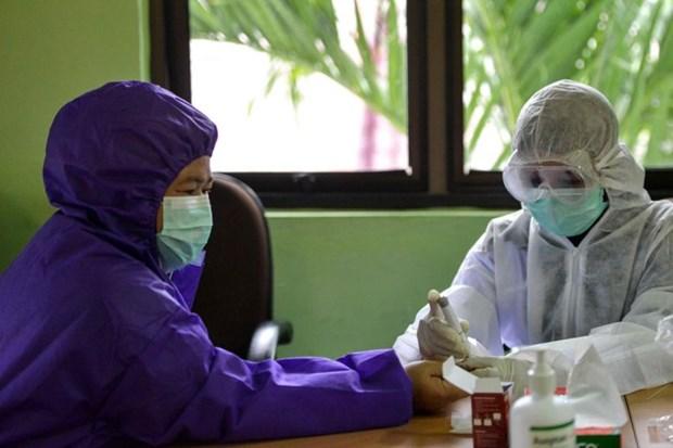 Indonesia gioi thieu hang loat san pham phong chong dich COVID-19 hinh anh 1