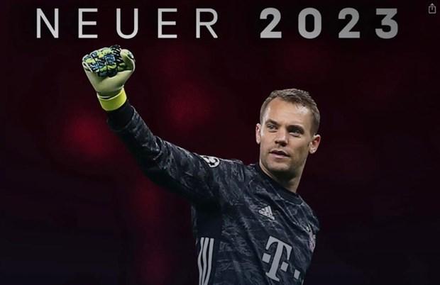 Bayern Munich chinh thuc gia han hop dong voi Neuer den 2023 hinh anh 1