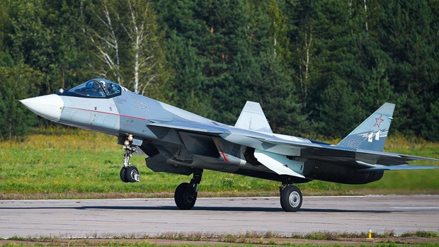May bay Su-57 cua Nga dap ung duoc hau het yeu cau dat ra hinh anh 1