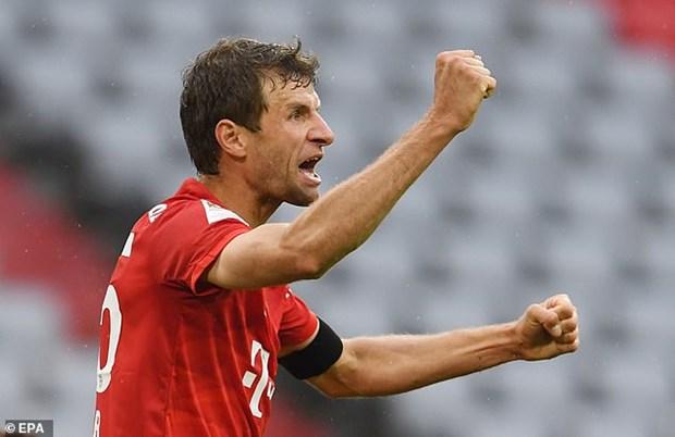 Bayern huy diet Frankfurt: Khoi dau hoan hao cho tran Klassiker hinh anh 2