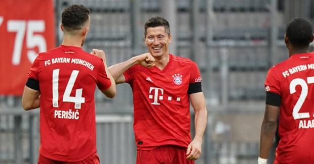 Bayern huy diet Frankfurt: Khoi dau hoan hao cho tran Klassiker hinh anh 1