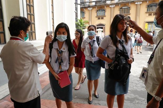 Dich COVID-19: Philippines khong mo lai truong hoc neu chua co vacxin hinh anh 1