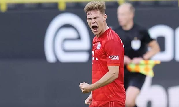 Kimmich noi gi sau khi lap sieu pham giup Bayern ap sat ngoi vuong? hinh anh 1