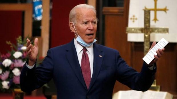 Ong Joe Biden chien thang trong cuoc bau cu so bo tai bang Indiana hinh anh 1