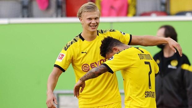 Ket qua Bundesliga: Dortmund niu keo Bayern them mot vong dau hinh anh 1