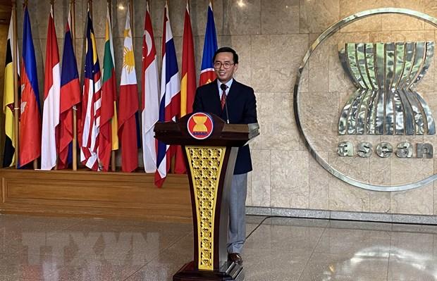 Han Quoc ho tro ASEAN nang cao nang luc phat hien COVID-19 hinh anh 1