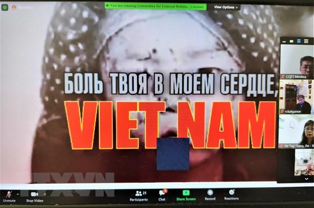 Hoi thao truc tuyen ky niem 70 nam thiet lap quan he Viet-Nga hinh anh 3