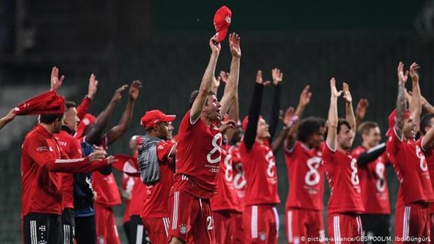 Khoanh khac kho quen ve 8 lan lien tiep vo dich Bundesliga cua Bayern hinh anh 1