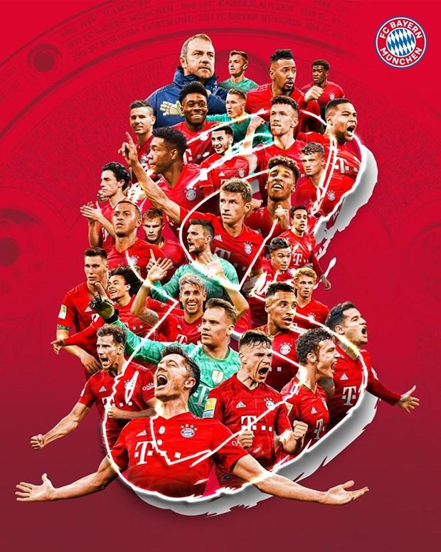 Bayern Munich lan thu 8 lien tiep gianh chuc vo dich Bundesliga hinh anh 2