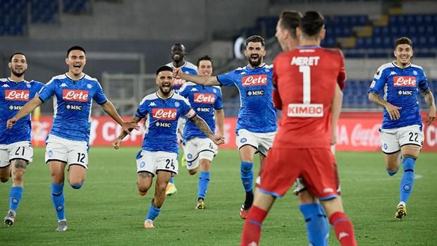 Ha Juventus o loat sut luan luu, Napoli vo dich Coppa Italia hinh anh 1