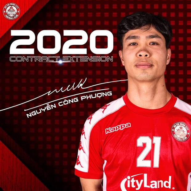 Cong Phuong gan bo voi Thanh pho Ho Chi Minh den het mua giai 2020 hinh anh 1