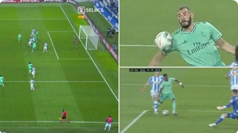 Danh bai Sociedad, Real Madrid soan ngoi dau cua Barcelona hinh anh 1