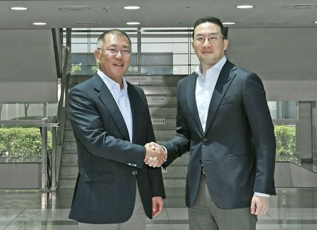 Hyundai Motor va LG Group hop tac san xuat pin oto dien hinh anh 1