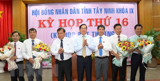 Kien toan cac chuc danh Pho Chu tich HDND, UBND tinh Tay Ninh hinh anh 1