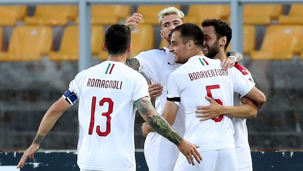 Ket qua: Ronaldo giup Juve gianh 3 diem, AC Milan thang dam hinh anh 1