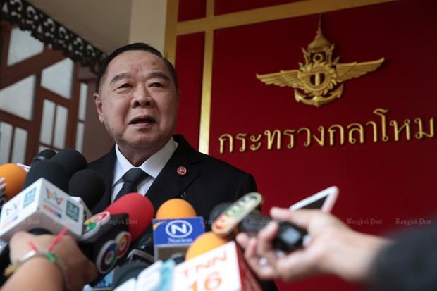 Thai Lan: Pho Thu tuong Prawit tam thoi lanh dao dang cam quyen hinh anh 1