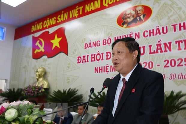 Dong Thap to chuc Dai hoi cap tren co so tai huyen Chau Thanh hinh anh 2
