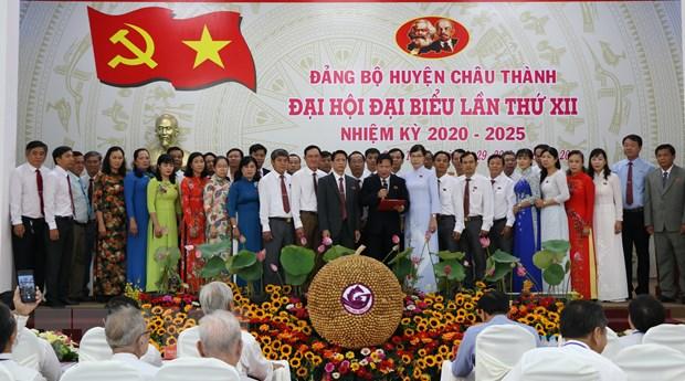 Dong Thap to chuc Dai hoi cap tren co so tai huyen Chau Thanh hinh anh 3