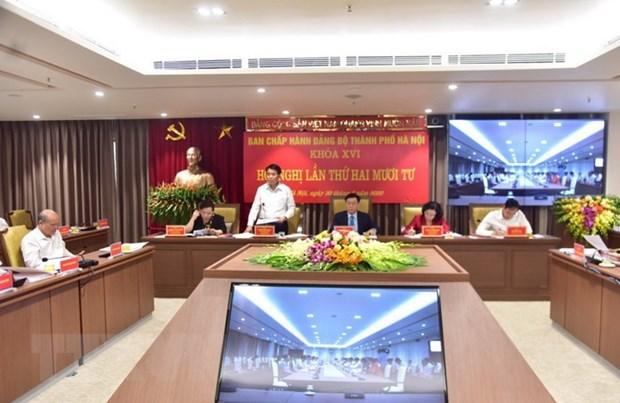 Thanh uy Ha Noi thong nhat quyet nghi 4 noi dung quan trong hinh anh 1