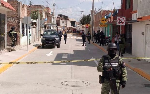 Mexico: Xa sung tai trung tam phuc hoi nhan pham, 24 nguoi thiet mang hinh anh 1