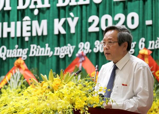 Quang Binh quyet liet thuc hien phat trien KT-XH va xay dung Dang hinh anh 1