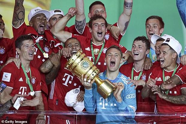 Khoanh khac dang nho trong 20 lan vo dich DFB Cup cua Bayern Munich hinh anh 1