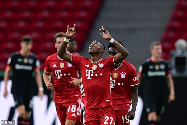 Danh bai Leverkusen, Bayern Munich vo dich Cup Quoc gia Duc hinh anh 2