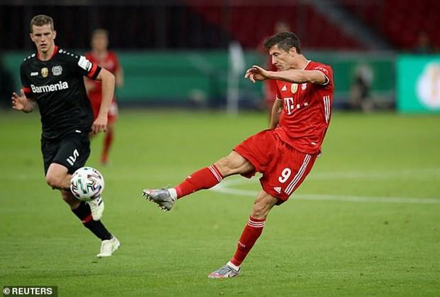 Danh bai Leverkusen, Bayern Munich vo dich Cup Quoc gia Duc hinh anh 4