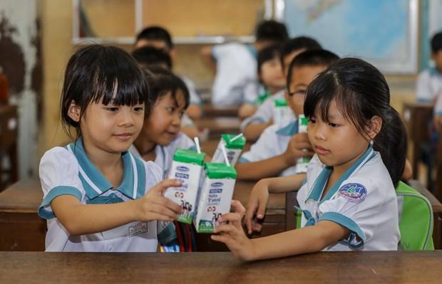 Niem vui uong sua hoc duong an toan tai Thanh pho Ho Chi Minh hinh anh 2