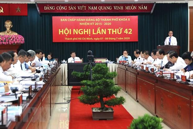 Bi thu Thanh uy TP.HCM: No luc giu vai tro dau tau kinh te ca nuoc hinh anh 1