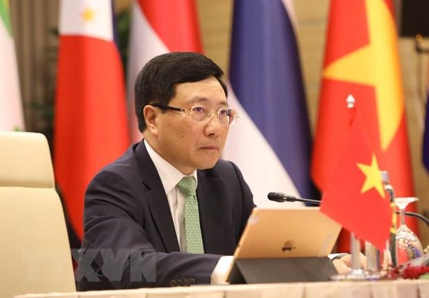 Nhat Ban va Viet Nam dong chu tri Hoi nghi Bo truong Mekong-Nhat Ban hinh anh 1
