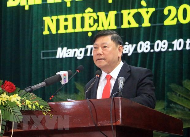 Dong chi Vo Van Thuong du Dai hoi Dang bo huyen Mang Thit, Vinh Long hinh anh 2