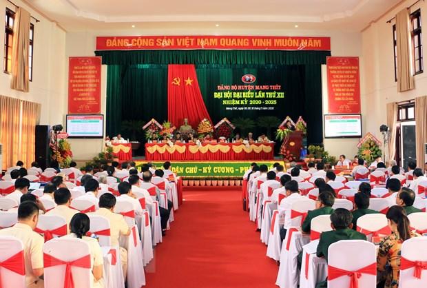 Dong chi Vo Van Thuong du Dai hoi Dang bo huyen Mang Thit, Vinh Long hinh anh 3