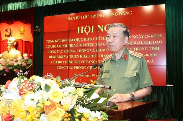 Ong Tran Quoc Vuong: Phong, chong ma tuy can su vao cuoc dong bo hinh anh 1
