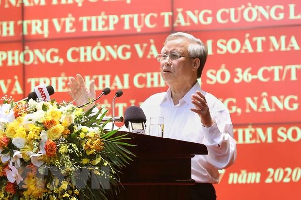 Ong Tran Quoc Vuong: Phong, chong ma tuy can su vao cuoc dong bo hinh anh 2