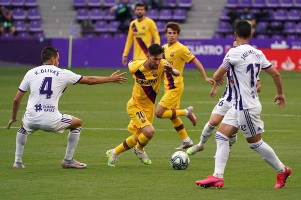 Lionel Messi lam nen dieu chua tung co trong lich su La Liga hinh anh 1