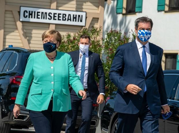 Duc: Thu tuong Merkel tu choi binh luan ve nguoi ke nhiem hinh anh 1