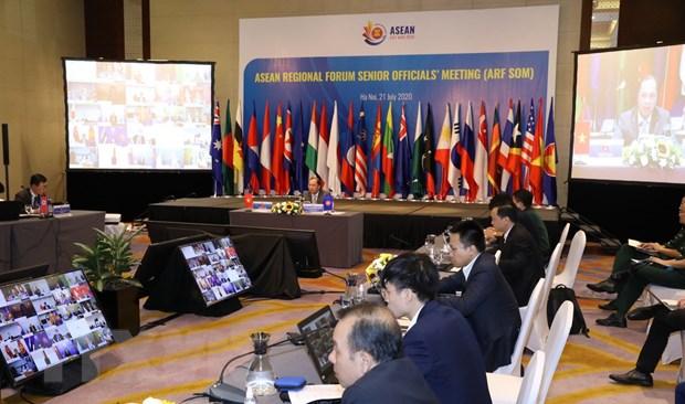 ASEAN 2020: Hoi nghi Quan chuc cao cap Dien dan Khu vuc ASEAN hinh anh 1