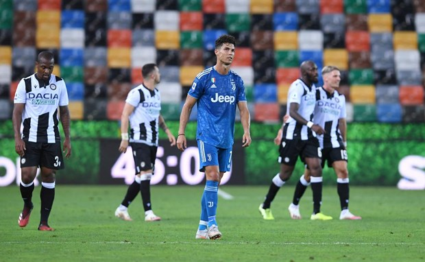 Thua soc Udinese, Juventus lo co hoi som gianh chuc vo dich Serie A hinh anh 1