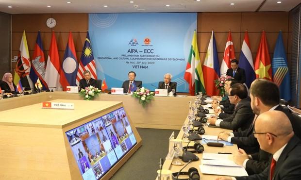 AIPA 2020: Day manh hop tac nghi vien trong linh vuc giao duc, van hoa hinh anh 1