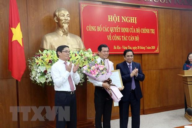 Ong Pham Viet Thanh giu chuc Bi thu Tinh uy Ba Ria-Vung Tau hinh anh 1